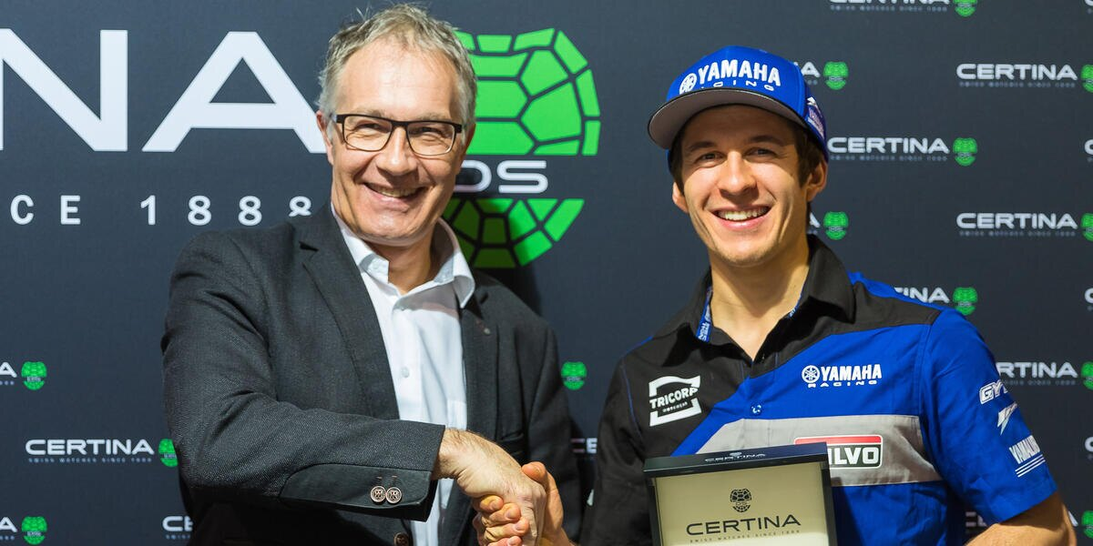 Power and precision: Certina is the new partner of the Wilvo Yamaha Official MXGP team