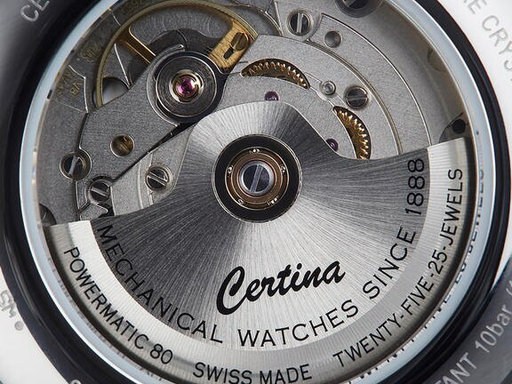 See-through caseback