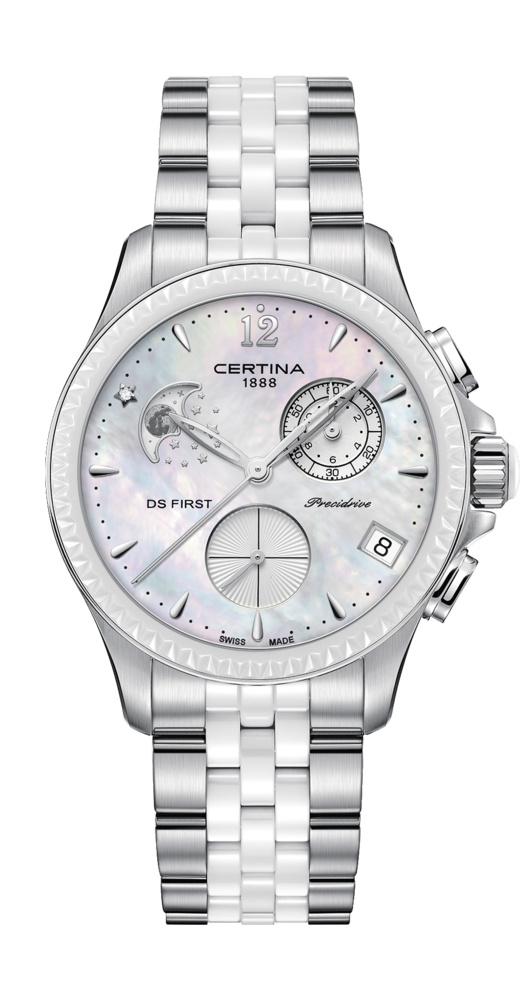 Certina Watch DS First Lady Chronograph Moon Phase C030.250.11.106.00