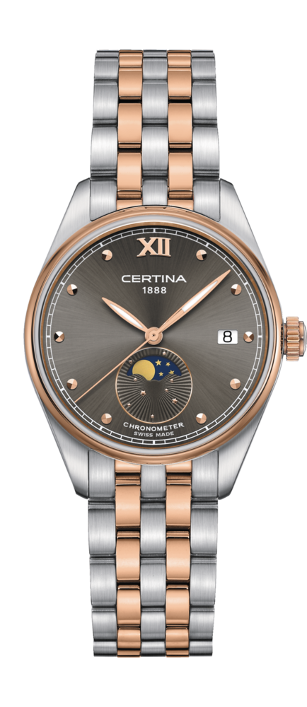 Certina Watch DS-8 Moon Phase C033.257.22.088.00
