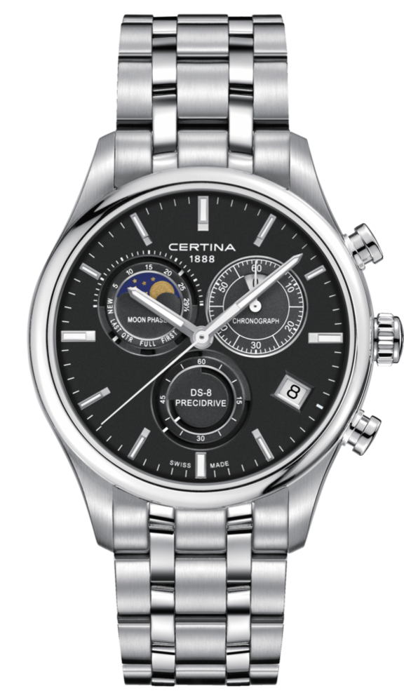 Certina Watch DS-8 Moon Phase C033.450.11.051.00