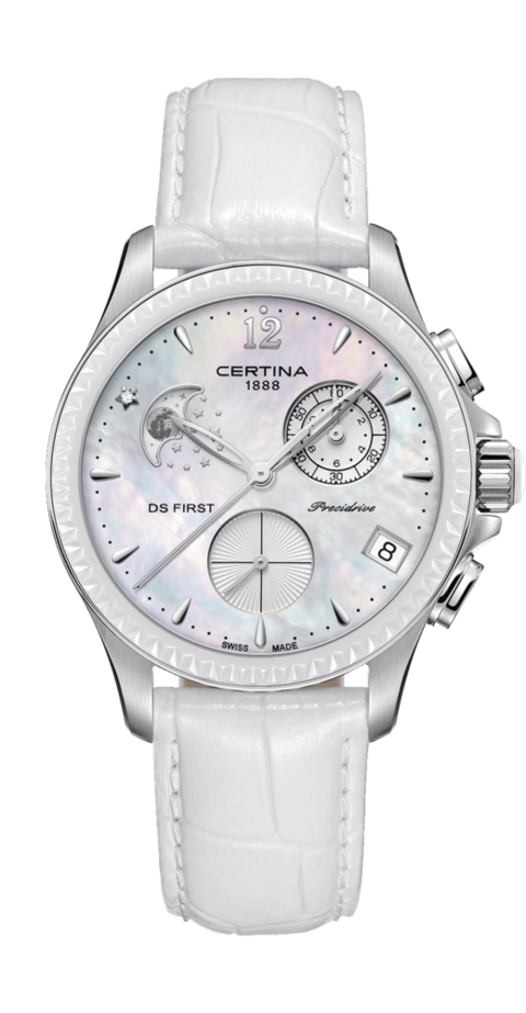 Certina Watch DS First Lady Chronograph Moon Phase C030.250.16.106.00