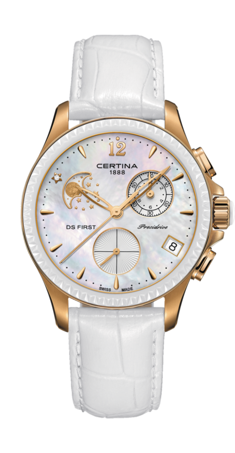 Certina Watch DS First Lady Chronograph Moon Phase C030.250.36.106.00