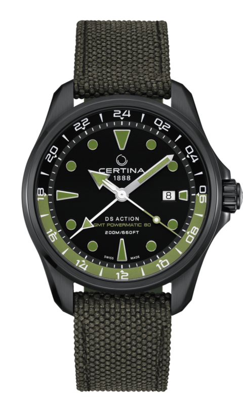 Certina Watch DS Action GMT Powermatic 80 C032.429.38.051.00