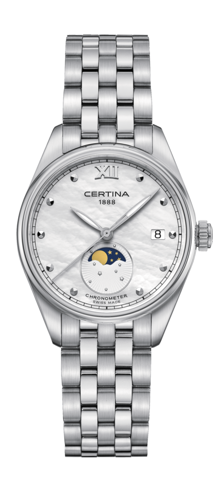 Certina Watch DS-8 Lady Moon Phase C033.257.11.118.00