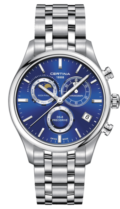 Certina Watch DS-8 Moon Phase C033.450.11.041.00