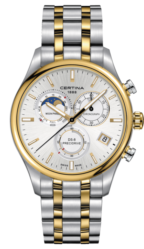 Certina Watch DS-8 Chronograph Moon Phase C033.450.22.031.00