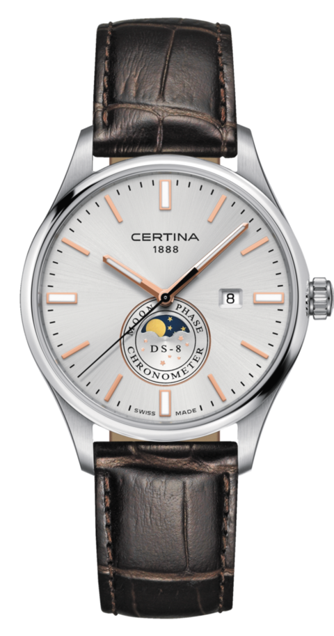 Certina Watch DS-8 Moon Phase C033.457.16.031.00