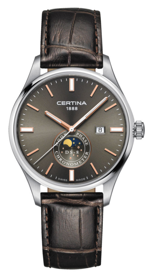 Certina Watch DS-8 Moon Phase C033.457.16.081.00