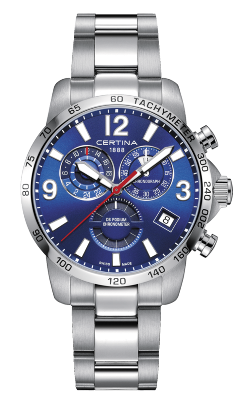 Certina Watch DS Podium Chronograph GMT C034.654.11.047.00